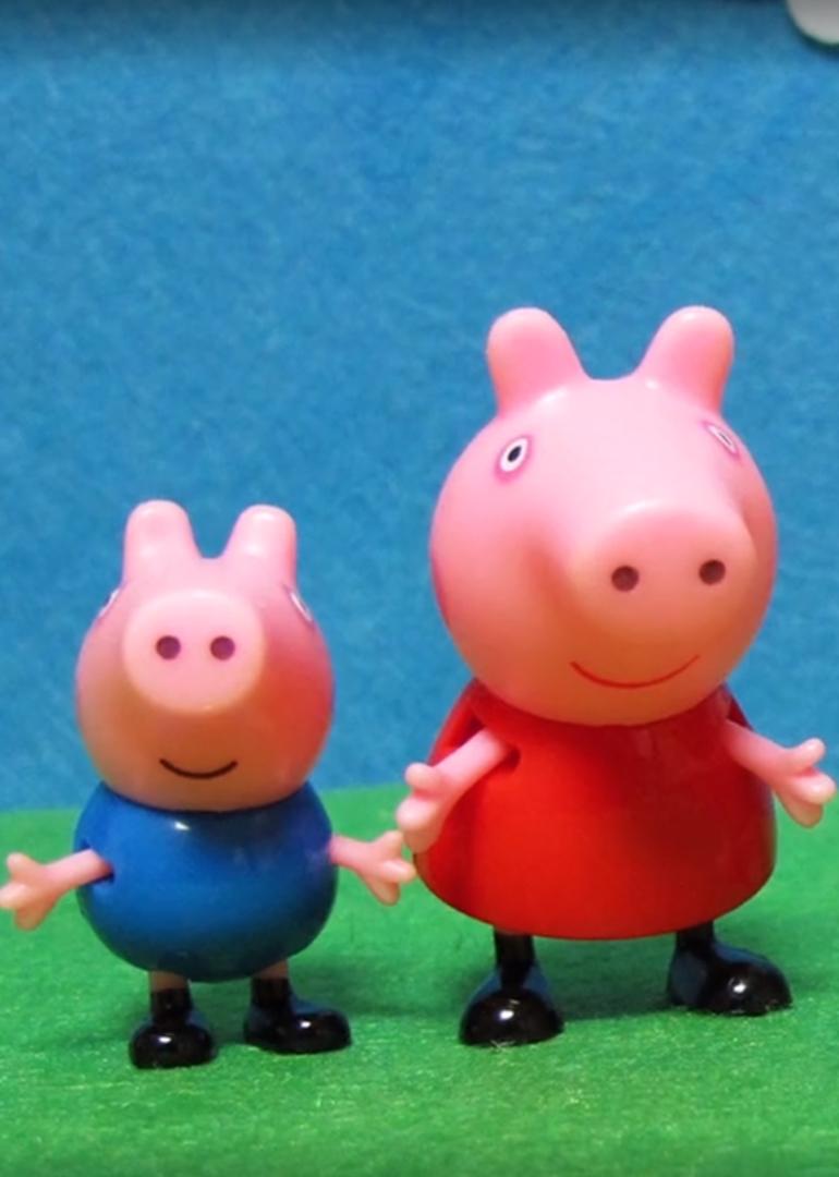 【宝贝玩具】粉红猪的故事
