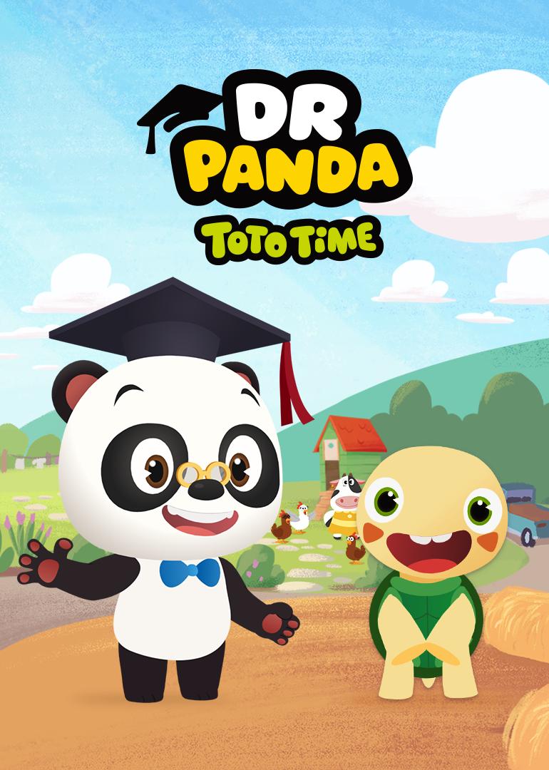 熊猫博士和托托英文版
