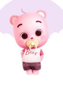 皮皮熊Pinky
