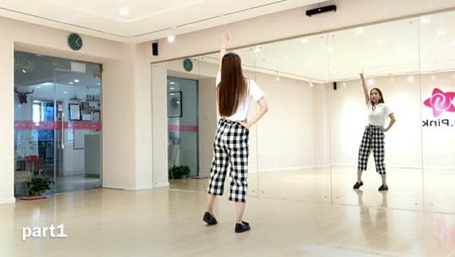抖音舞蹈《海草舞》镜面分解教程公司年会舞蹈