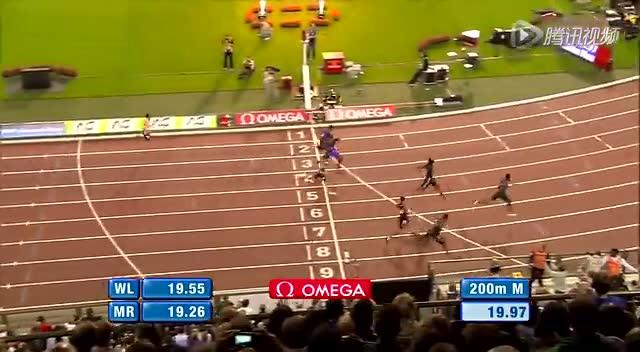19秒97 奥古诺德200米破20秒成亚洲第一人_综合赛事