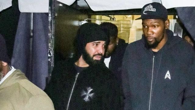 杜蘭特新冠病毒呈陽性!知名歌手Drake與其夜店狂嗨再和詹姆斯親密接觸