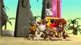 旺旺队立大功:甜甜跟戴王冠的猴子争做女王的位置,最后谁会赢呢