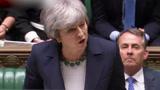 """脱欧成""""拖欧?#20445;?英国议会否决无协议脱欧?特蕾莎·?#39134;?#38899;嘶哑回应"""