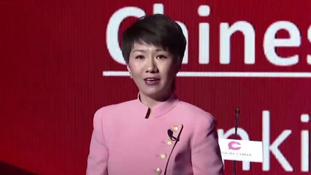 央视美女主播刘欣的英文演讲 大佬时光 第1张