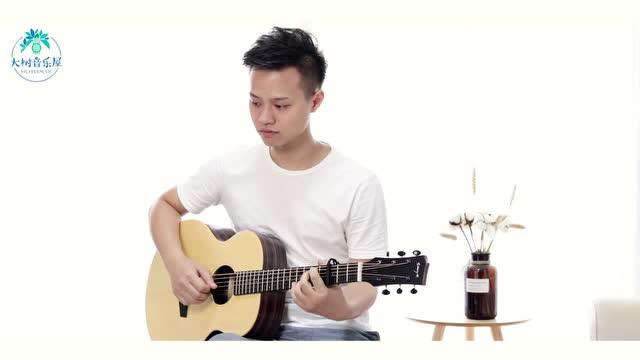 《踮起脚尖爱》洪佩瑜-吉他弹唱翻唱-大树音乐