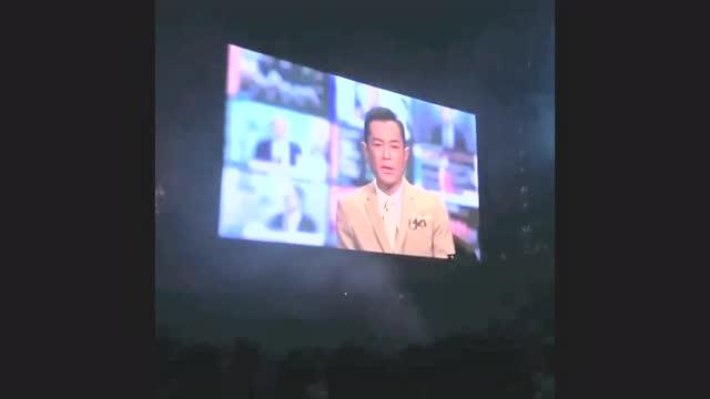 謝安琪演唱會古天樂片段