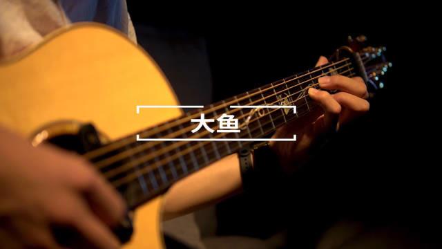 吉他改编大鱼海棠主题曲《大鱼》,戴上耳机听了一晚