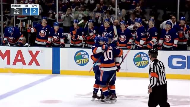 【集錦】NHL-島人5-2大勝閃電 巴扎爾傳射助球隊豪取八連勝