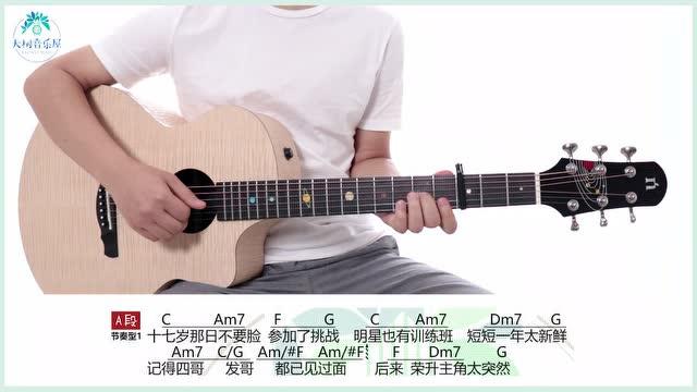 《17岁》《十七岁》刘德华-吉他弹唱-大树音乐