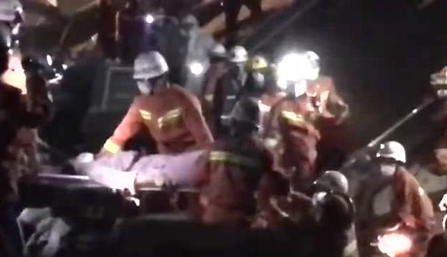 福建泉州一快捷酒店發生坍塌事故