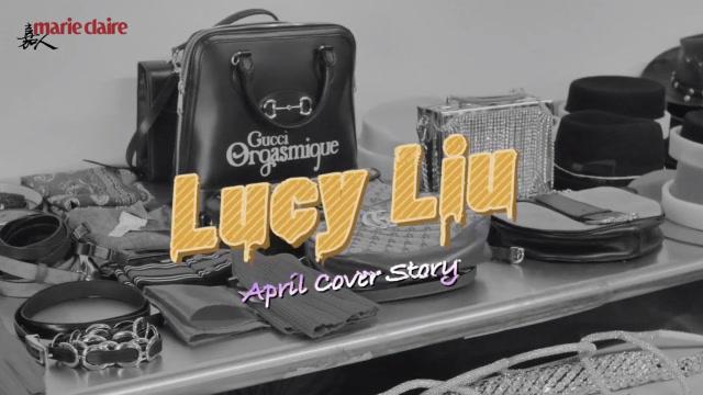 嘉人四月刊封面:Lucy Liu,先鋒幻想