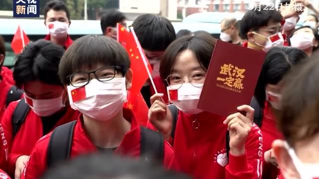 上海第三批援鄂醫療隊啓程返滬