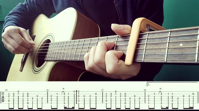 《美丽的神话》吉他指弹【北尚吉他】