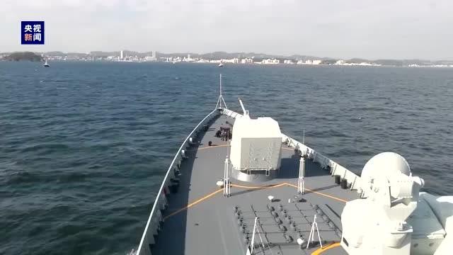 中國海軍艦艇時隔10年再次訪日