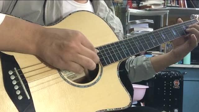 吉他指弹《star sky》