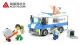 动漫异次元 乐高LEGO城市警察60142运钞车