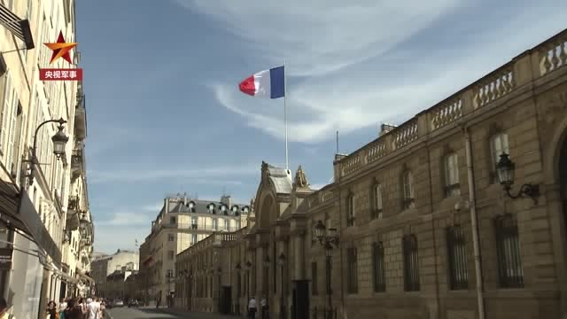 """法國總統宣佈 法國處於""""戰爭狀態"""""""
