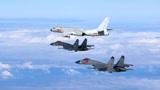 台战机拦截解放军军机 遭警告:立即离开后果自负