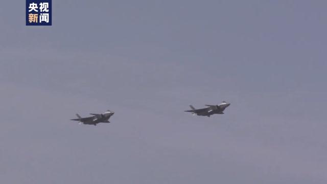 實力!喝彩!90秒看殲-16、殲-20、運-20展翅長春