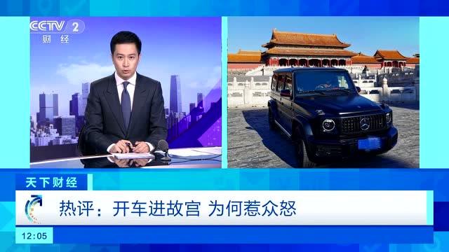 央视:开车进故宫,露小宝LL为何惹众怒?