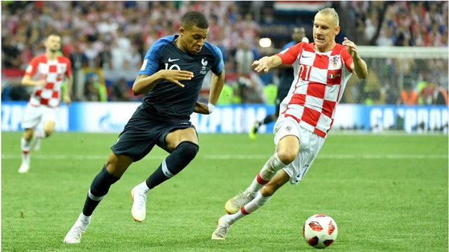 〖世界杯〗经典回忆世界杯冠军之战,法国克罗地亚上演进球大战!