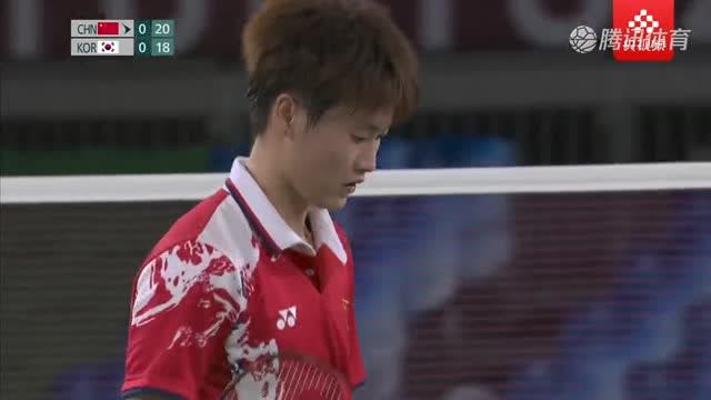 【集锦】羽毛球女单1/4决赛:陈雨菲2-0安洗莹晋级四强_中国羽球