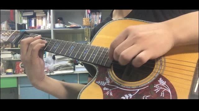 吉他指弹《神兵小将》片尾曲《不怕》