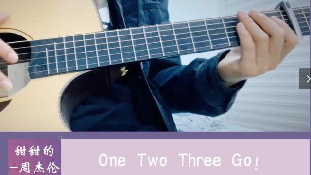 周杰伦《甜甜的》中等甜版本吉他弹唱演示视频,含吉他谱