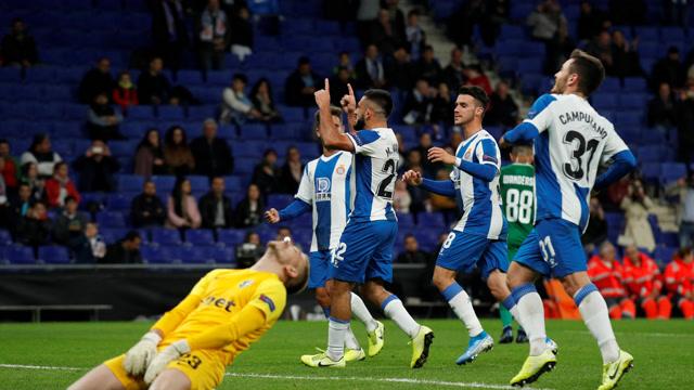 【戰報】歐聯杯-西班牙人6-0九人盧多格雷茨 六名球員建功武磊替補登場