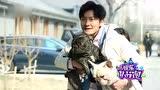 郭京飞拍大片 撩狗遭嫌弃被撒尿示威
