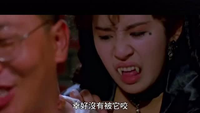 电影:吴君如还演过吸血鬼,吧鬼片演的很搞笑