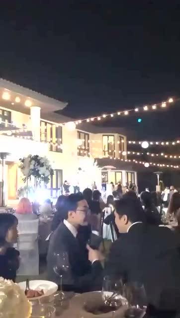婚禮賓客席上的GD(1)