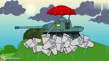 坦克世界搞笑动漫:低效黑枪汪的经典表现