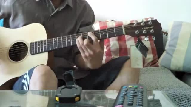 莱柏34寸baby吉他当电吉他玩