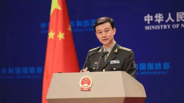 中國軍艦激光照射美軍機?非常時刻,美藉此向中國挑釁,吳謙怒斥