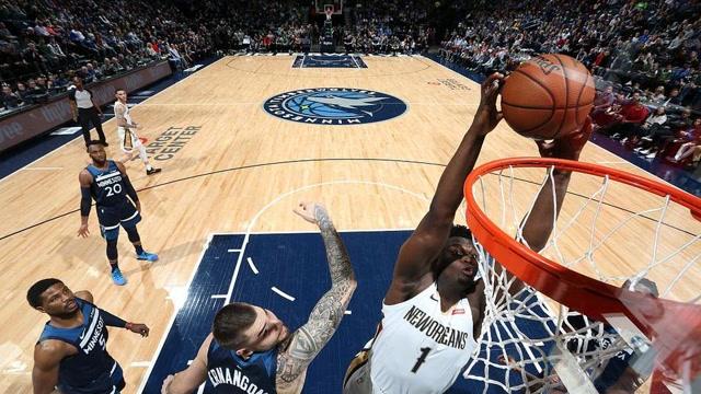 9日NBA十佳球 詹眉連線激情背扣錫安驚人天賦霸佔三席