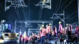 铁路施工的场面太壮观了,一千多名员工的汗水让人震撼