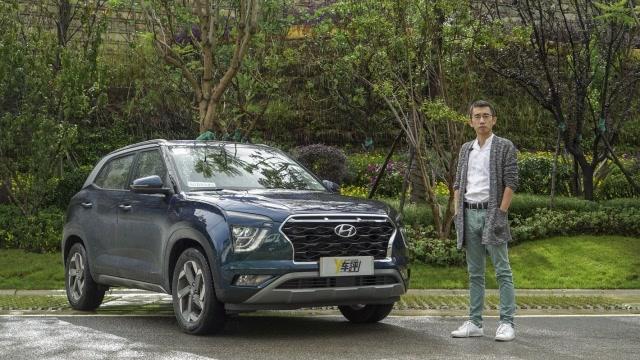 外表個性內在穩妥 李揚試駕北京現代新一代ix25