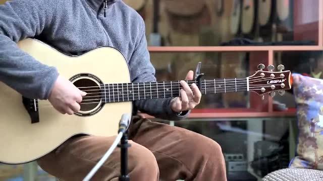 赛平老师弹奏《斯卡布罗集市》 莱柏吉他OM320