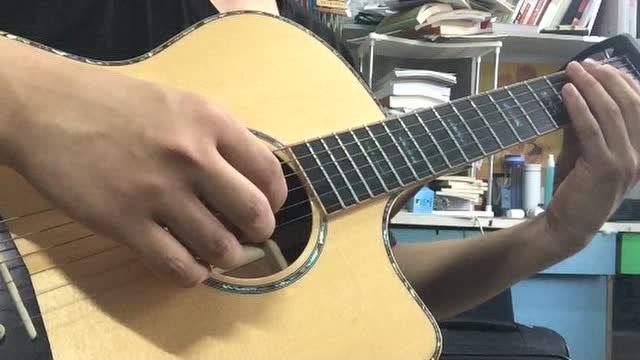 吉他指弹《等一分钟》-徐誉滕
