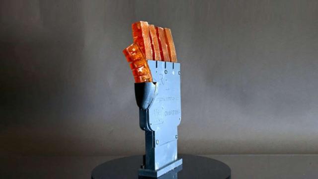 這3D打印機器人,像人體一樣的柔軟,居然還會出汗降溫