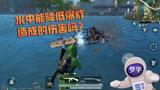 和平精英:水中能降低爆炸造成的伤害吗?载具:你是不是傻!