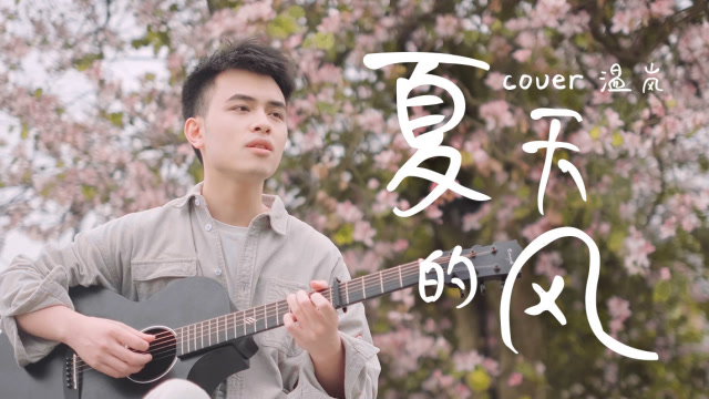 小哥哥弹唱《夏天的风》,声音慵懒好听,忍不住单曲循坏!