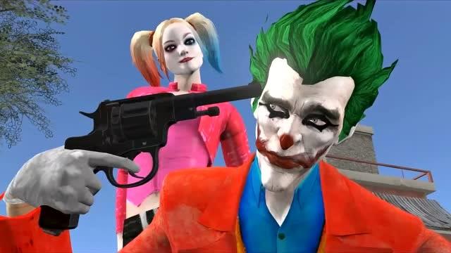 吃鸡动画:小丑好可怜