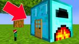 游游解说我的世界,钻石熔炉小屋VS圆石熔炉小屋?