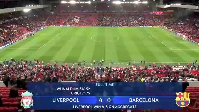 巴萨连续三年耻辱性出局苦涩历程:罗马,利物浦和拜仁连续羞辱巴萨