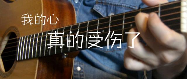「吉他弹唱入门系列教程」第十五集-「我的心真的受伤了」张学友
