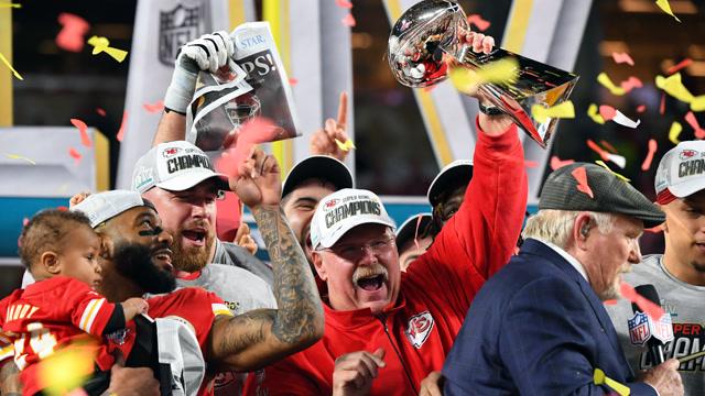 【官方】NFL超級碗上演大逆轉 堪薩斯城酋長時隔50年奪冠