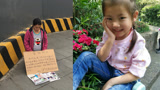 """5岁女儿患白血病无钱手术,27岁待产妈妈成都街头""""卖胎救女"""""""